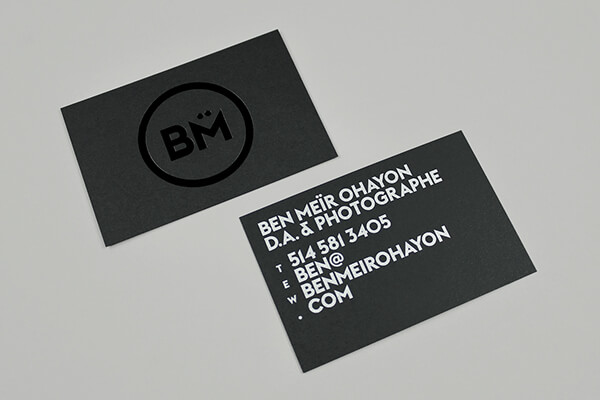 Creative Photography Business Cards Design