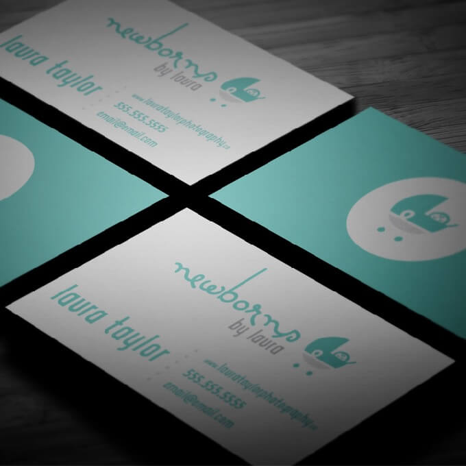 laura taylor photography business card