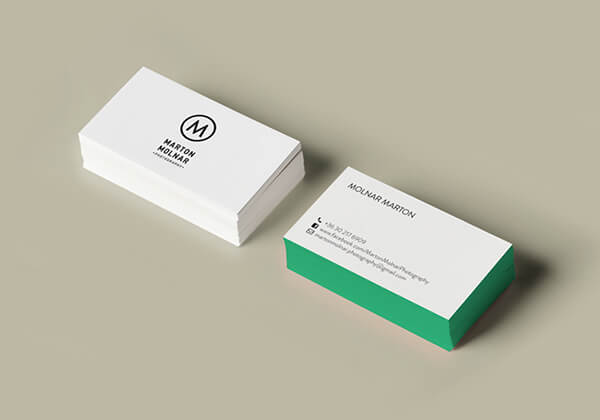 30 creative business card designs for photographers marton molnar photography business card reheart