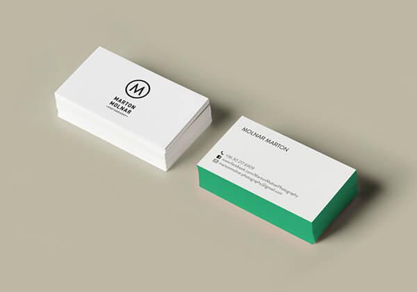 marton molnar photography business card