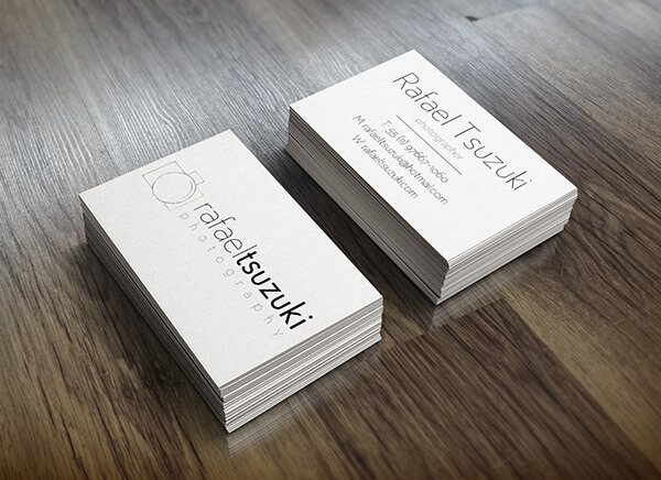 rafael tsuzuki photographer business card