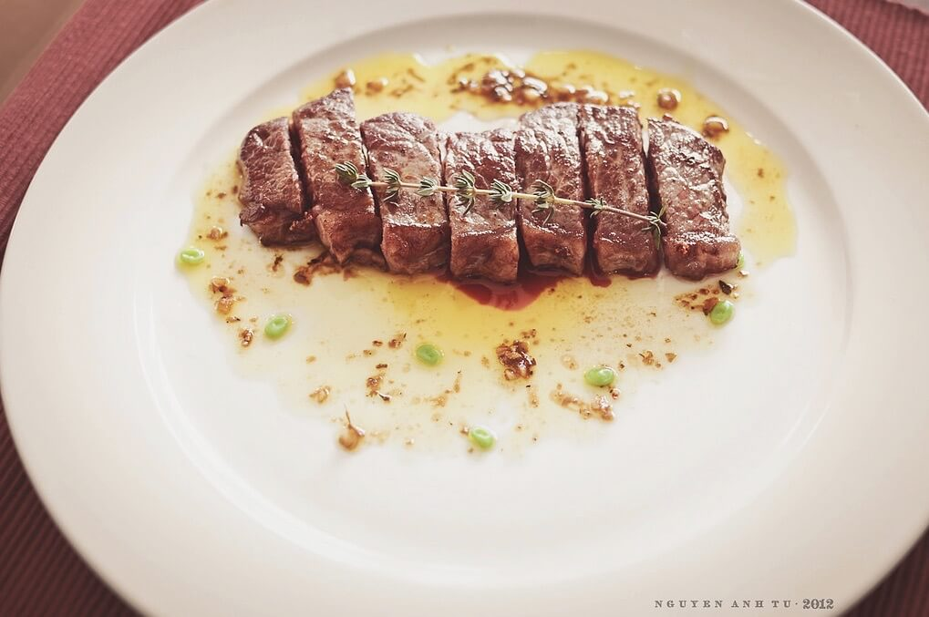 Anh Tu Nguyen - Rump Steak with Steak sauce