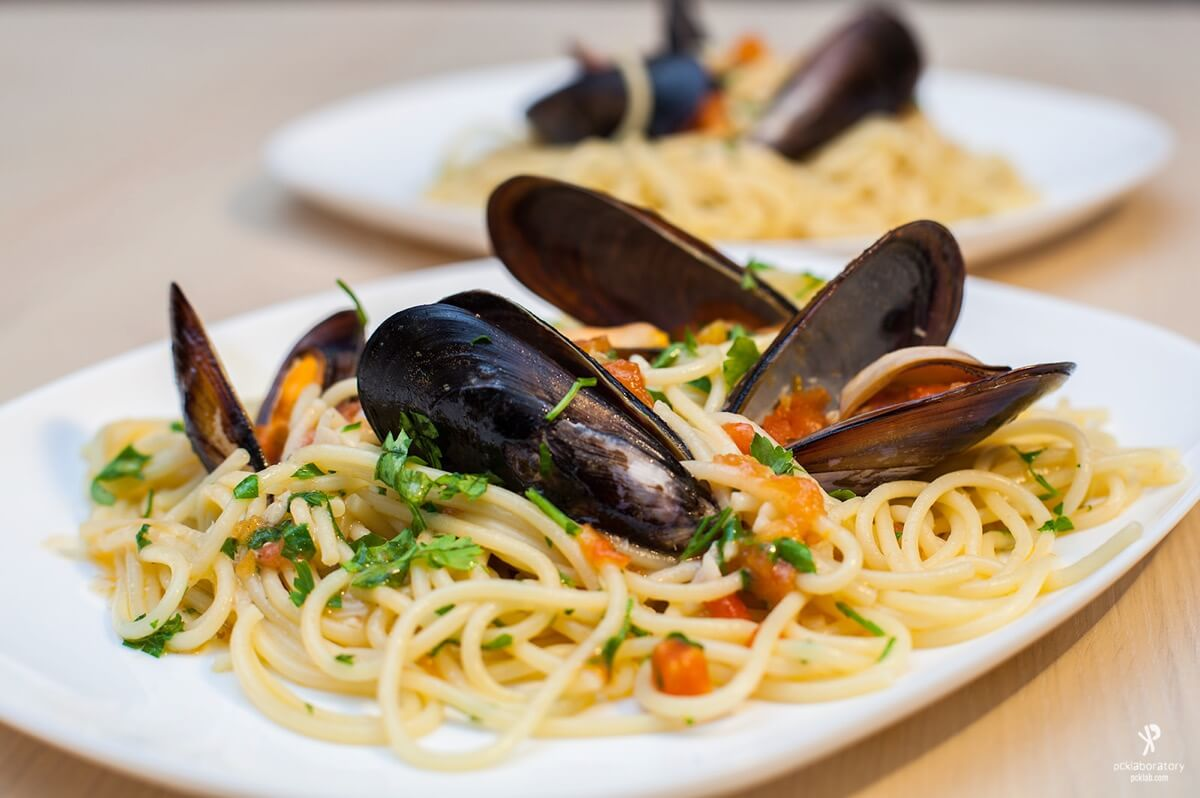 Yane Naumoski - Day 285: Spaghetti with mussels