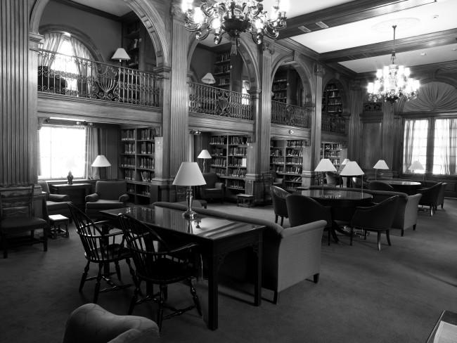 Sanborn House Library