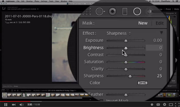 Radial Filter Tutorial