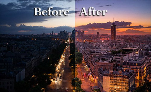 Tips for Retouching a Night Photo Using Lightroom