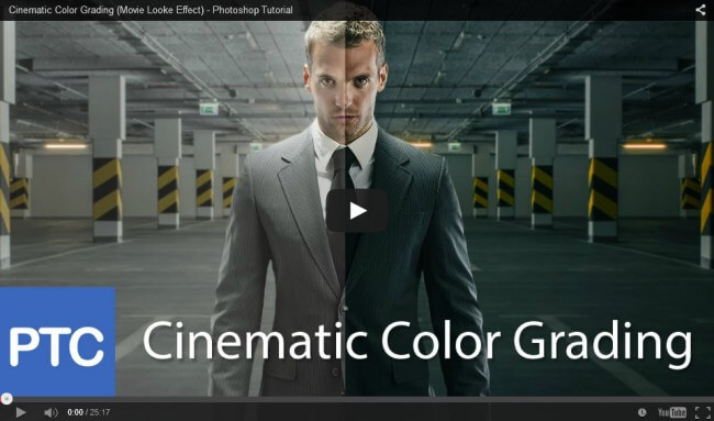 Cinematic Color Grading in Photoshop