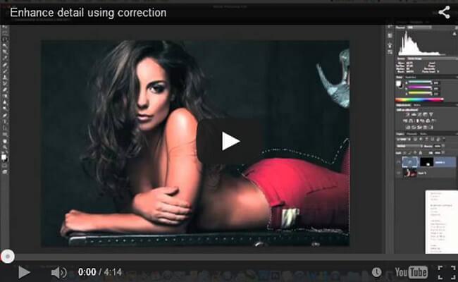 Enhance Detail Using Correction
