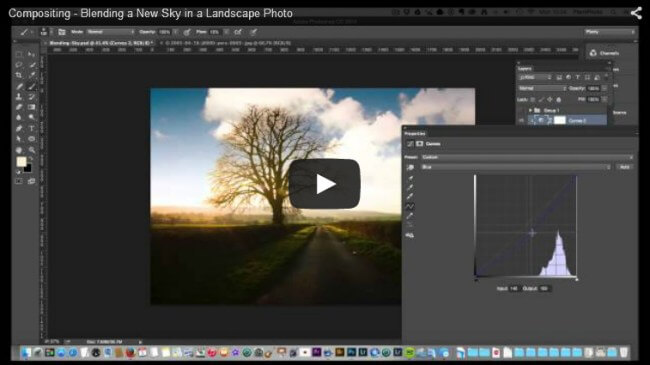 Blending a New Sky in a Landscape Photograph