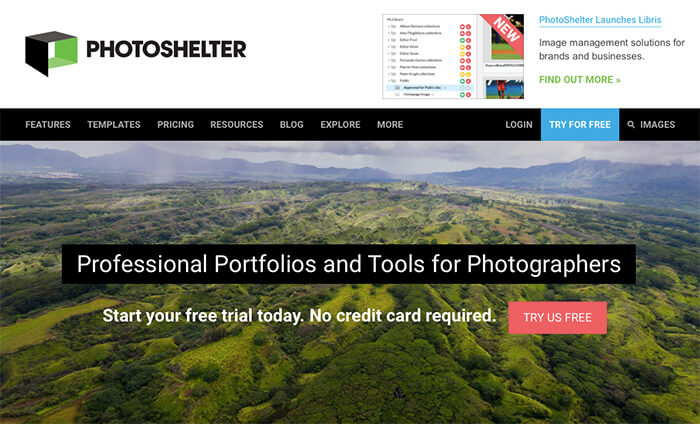 PhotoShelter screenshot
