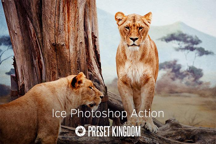 Ice Photoshop Action