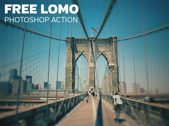 Lomo Photoshop Action