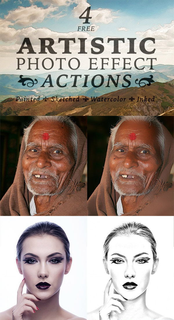 Artistic Effects Actions