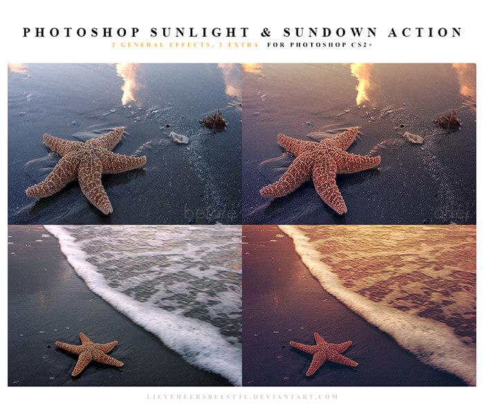 Sunlight and Sundown Actions