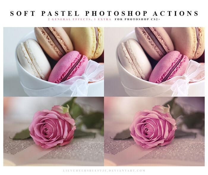 Soft Pastel Action