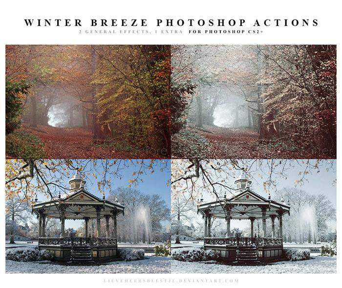 Winter Breeze Actions