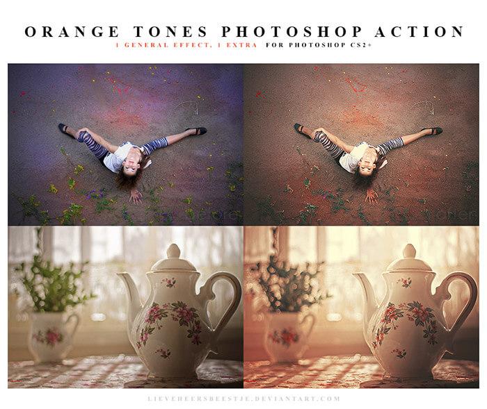 Orange Tones Action