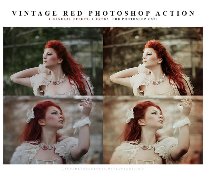 Vintage Red Action