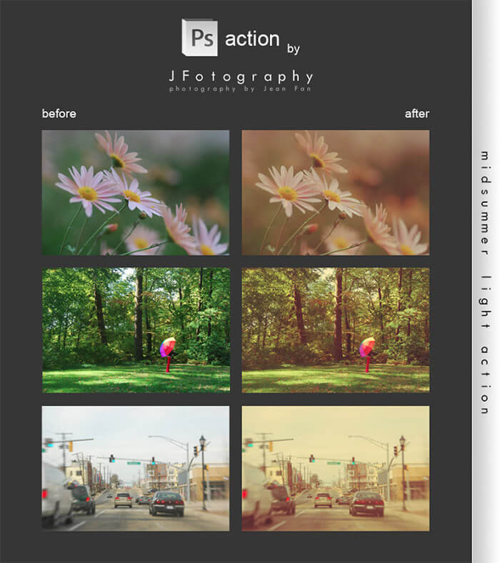 Midsummer Light Actions