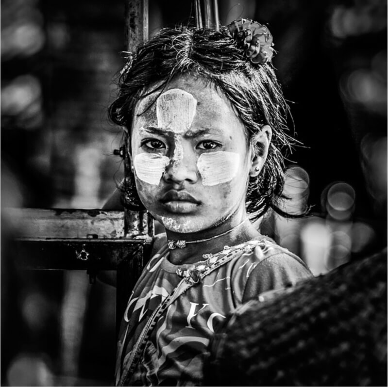 Myanmar - .[a] face in the crowd.