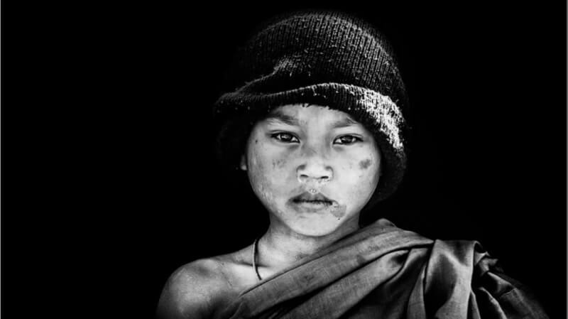 Myanmar - .novice monk.