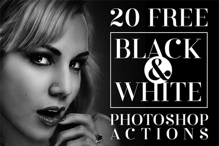 Black & White Actions
