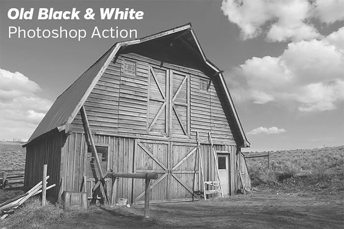 Old Black & White Action