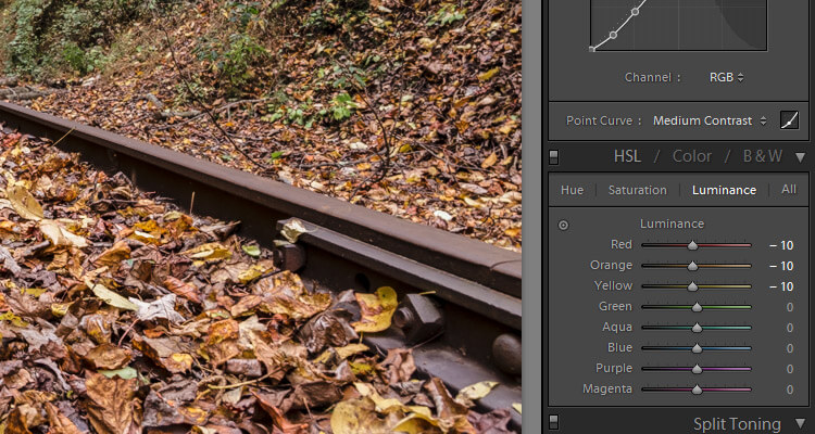 hl settings lightroom