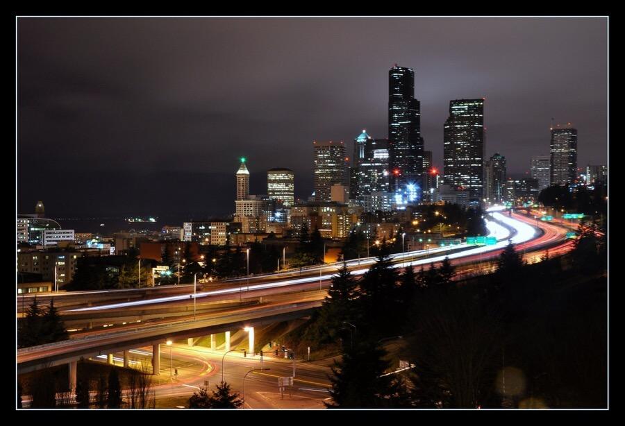 Seattleye - Seattle @ Night 2