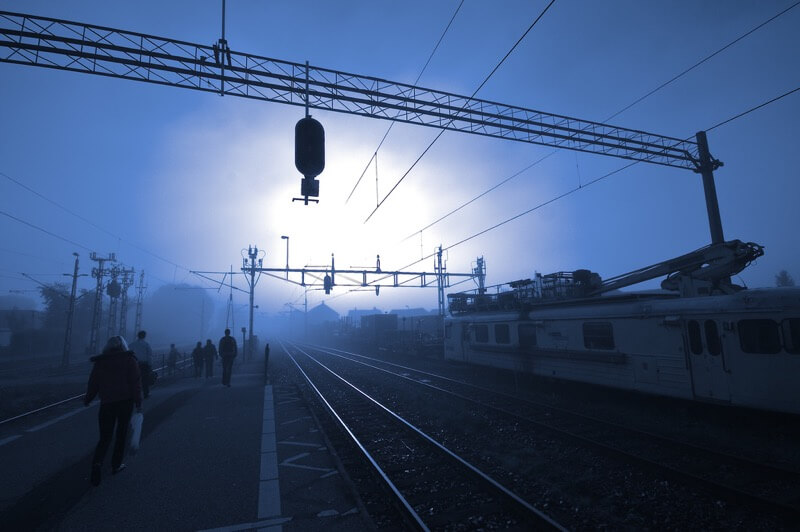 Håkan Dahlström - Blue misty morning...