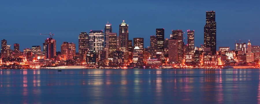 Justin Kraemer - Seattle from Alki