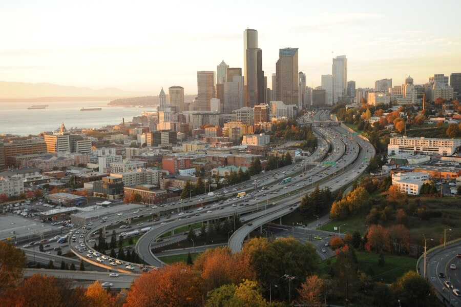 Wonderlane - The city of Seattle, Washington in the fall, from amazon.com, Beacon Hill, USA