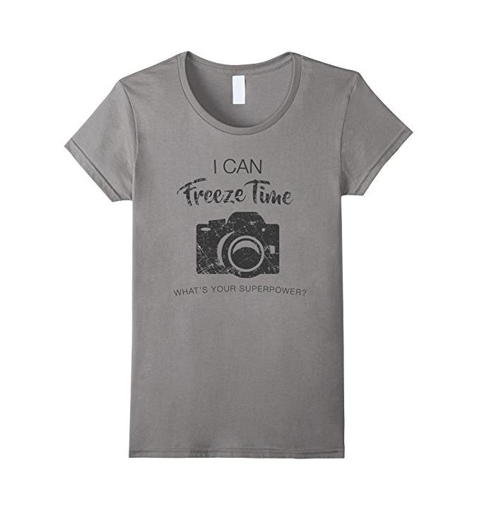 freeze time photography shirt