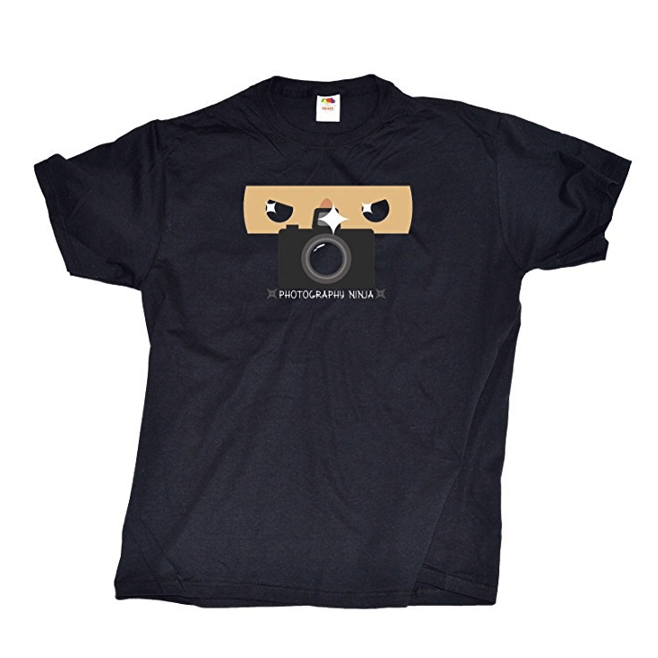 photography ninja shirt
