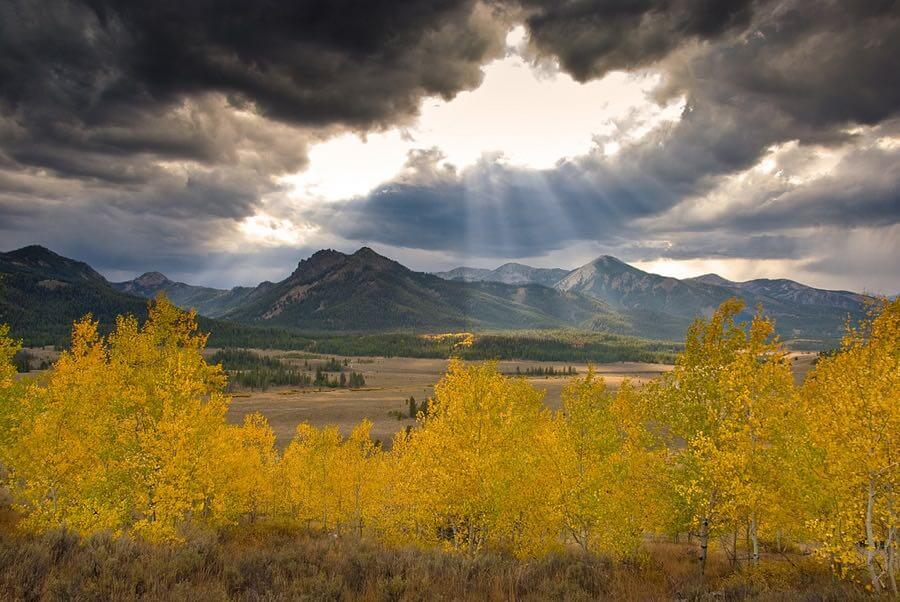 Charles Knowles - God Rays Galena Summit Idaho