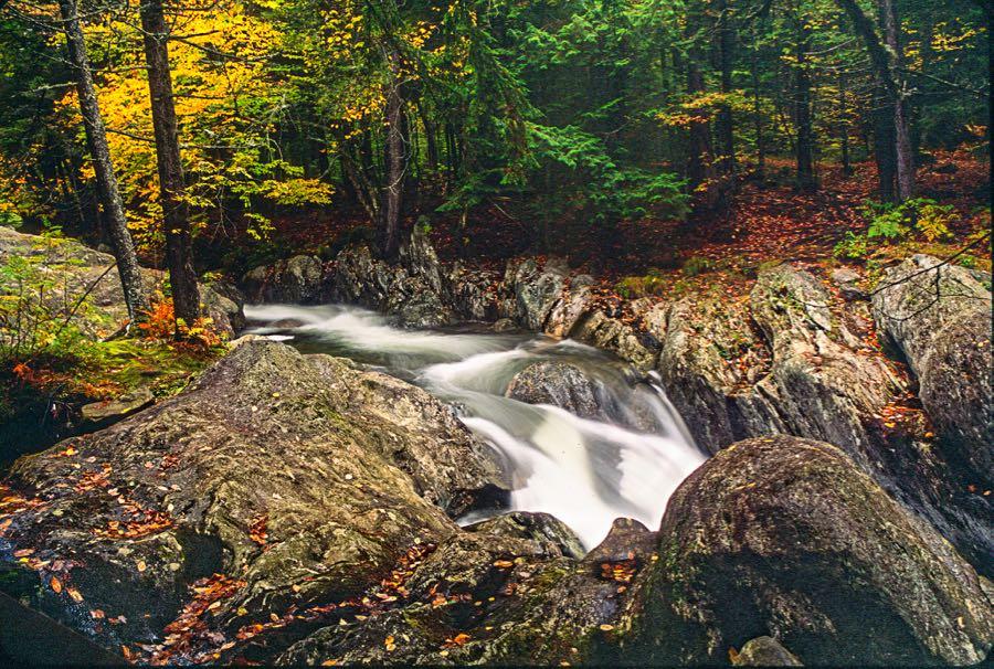 Matt Shalvatis - Water Falling over Rocks