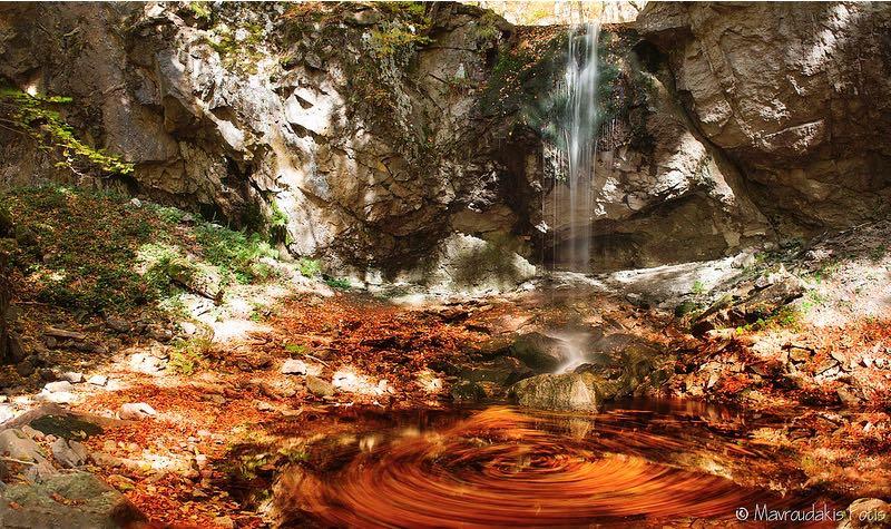 Fotis Mavroudakis - Waterfall in Autumn Forest