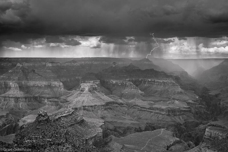 South Rim Lightning