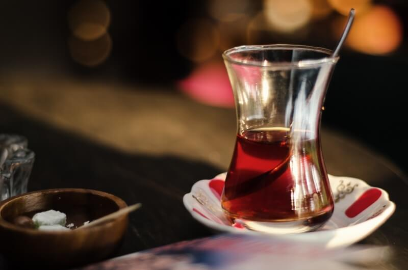 Yaşar Semih Daban - Tea on table