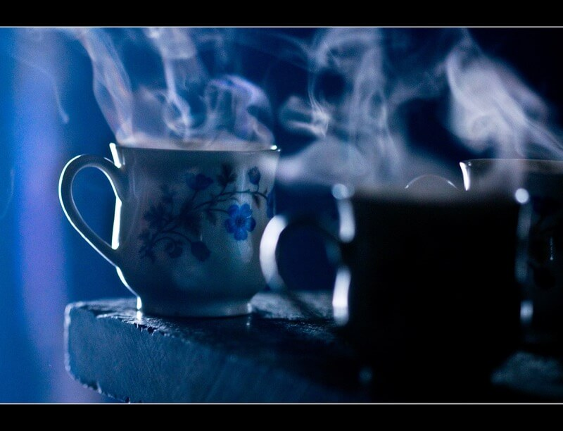 Abhisek Sarda - Steaming Tea for Shivering Photographers