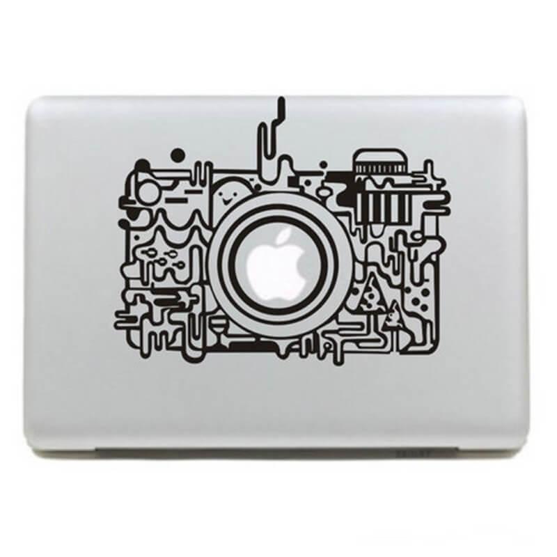 Camera MacBook Decal