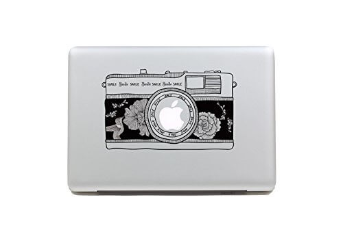 25 cool camera decals and stickers for your macbook. Black Bedroom Furniture Sets. Home Design Ideas