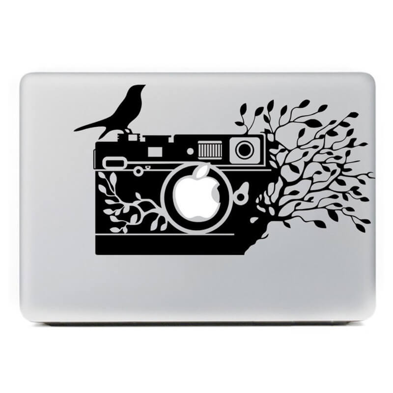 25 Cool Camera Decals And Stickers For Your Macbook