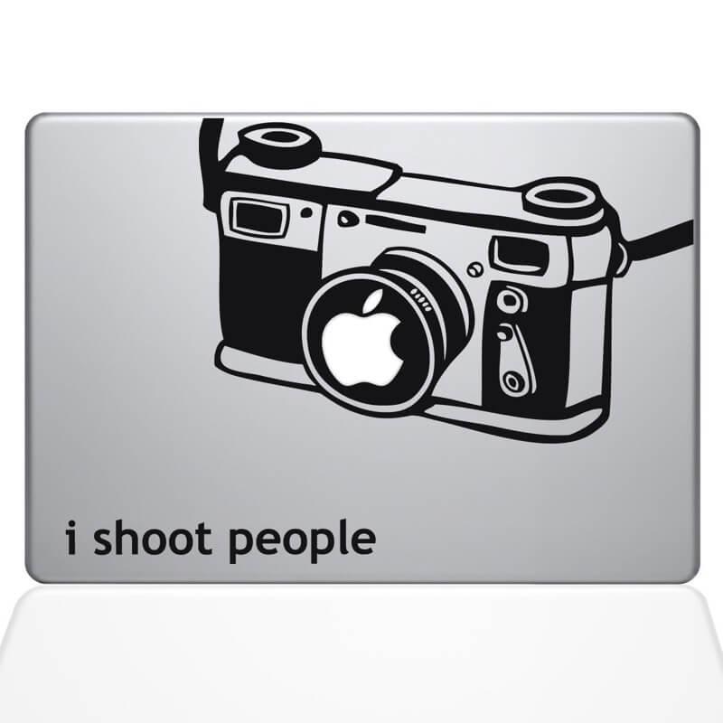 Camera Decal MacBook