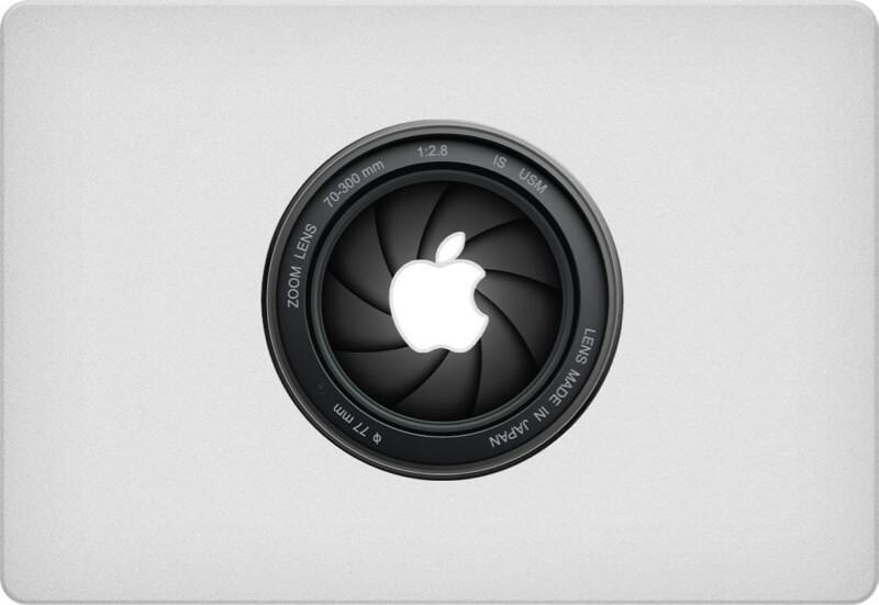 Camera Macbook Sticker