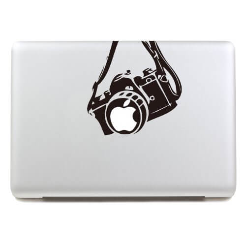 Macbook decal photography