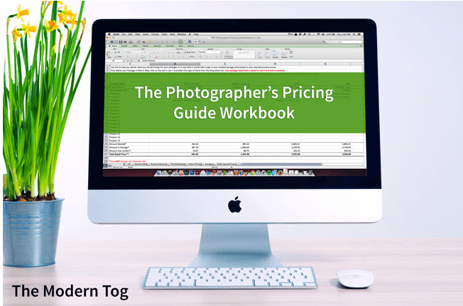 Photographer Pricing Workbook