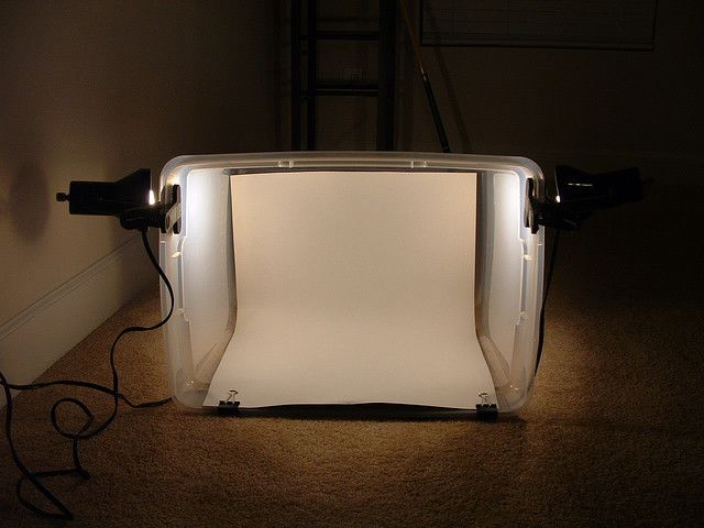 DIY Lightbox