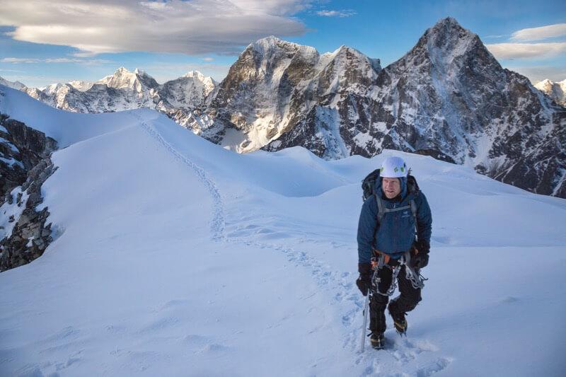 Lobuche East Climber - Grant Ordelheide