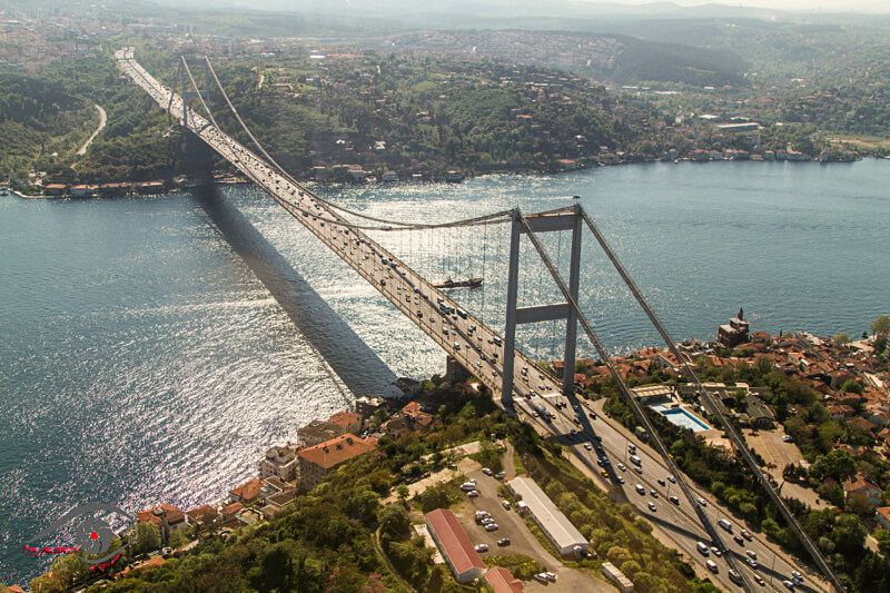 Bosphorus Bridge Turkey